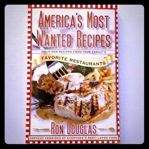 America's Most Wanted Recipes Cookbook